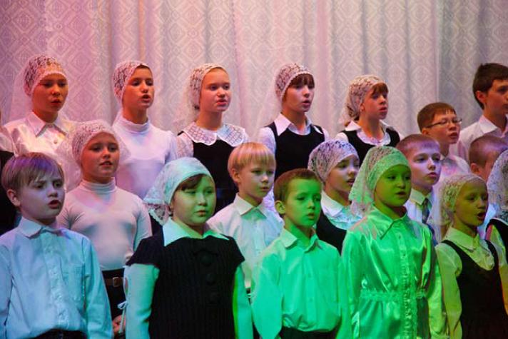 Фото 5. Рождественский концерт в Успенском храме